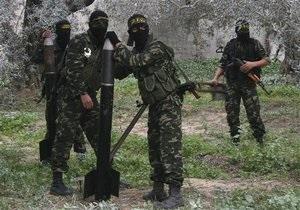 Палестинские боевики выпустили ракеты по двум городам на юге Израиля