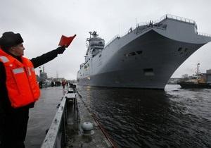 Франция успокоила Литву по поводу продажи Mistral России: с корабля снимут военное оборудование