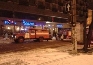 В Одессе произошел пожар в гостинице