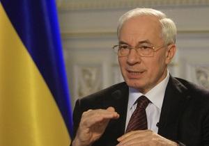 Азаров прогнозирует начало строительства второй кольцевой дороги вокруг Киева в 2012 году