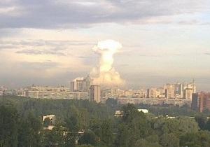 Жители Петербурга сфотографировали огромное облако-гриб над городом