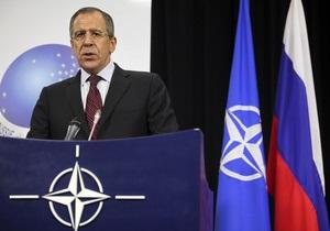 Лавров не считает, что Россия пытается получить право вето на решения НАТО