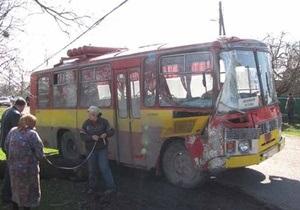 В Хмельницкой области под колесами автобуса погибли два пешехода