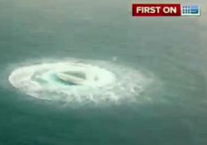 Странная  лодка у берегов Австралии - видео
