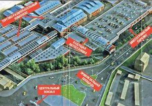 СМИ: В Киеве появится новая автостанция с паркингом и торговым центром