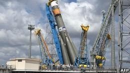 Союз стартовал с космодрома Куру