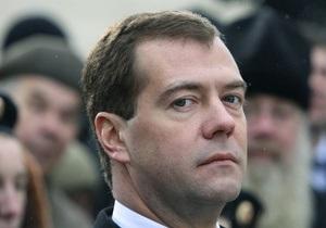 Медведев: РФ и США должны синхронно ратифицировать договор по СНВ