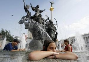 погода в Украине - В начале недели в Украине удержится 30-градусная жара