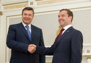 Янукович увидел возможность углубления сотрудничества с Россией в газовой сфере