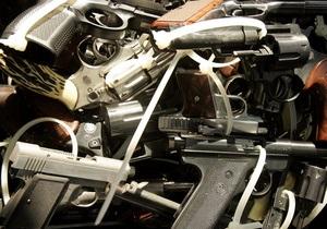 Милиция задержала киевлянина с арсеналом огнестрельного оружия