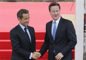 У президента всегда полно хороших идей: британский премьер оценил планы Саркози посетить Бенгази