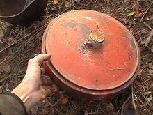 Во дворе одного частного дома под Киевом нашли 14 мин