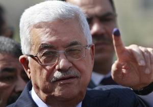 Аббас хочет восстановить Палестину в границах 1967 года