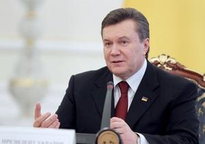 Янукович обратился к украинцам по случаю годовщины Декларации о суверенитете