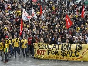 В Германии прошли многотысячные демонстрации студентов