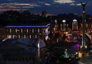 В день матча Украина - Англия в киевской фан-зоне находилось более 100 тыс. человек