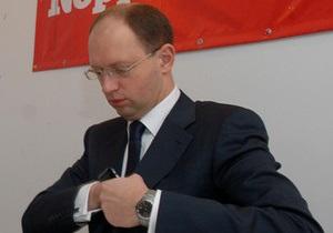 Яценюк назвал бюджет-2010  частным карманом  регионалов: Надо отбить деньги за выборы