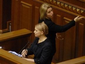 Герман заявила, что Тимошенко шантажирует Януковича с целью создания новой коалиции