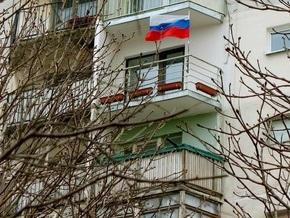 Крымская УНП: Акцию В каждом окне - российский флаг! спонсирует Россия