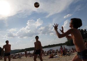 Киевская мэрия начала подготовку к пляжному сезону