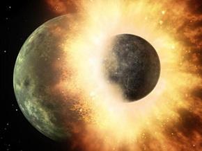 Телескоп NASA зафиксировал столкновение планет