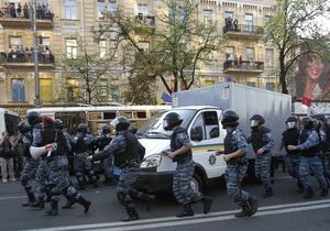 Автозак увез Тимошенко в СИЗО