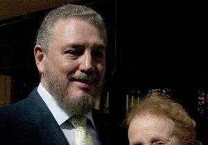 В Украину приедет сын Фиделя Кастро