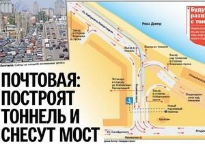 Сегодня в Киеве начинается реконструкция Почтовой площади