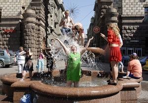 Погода - жара - С 17 мая температура воздуха в Украине повысится до +34 градусов