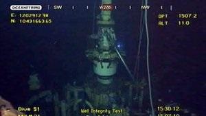 BP сняла заглушку со скважины в Мексиканском заливе