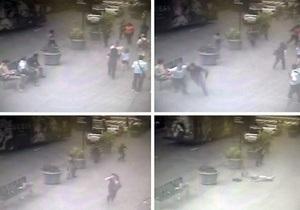 Полиция распространила видео гибели нью-йоркского стрелка