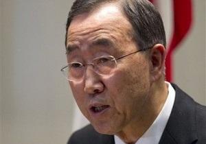Пан Ги Мун будет нести Олимпийский огонь в Лондоне