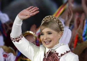 Тимошенко отказалась в Крыму разговаривать на русском
