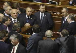 Оппозиция готова блокировать трибуну парламента до конца рабочего дня