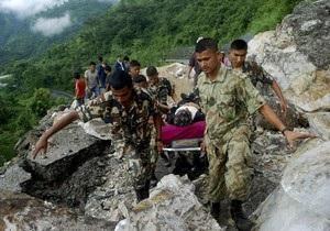 В результате землетрясения в Тибете погибли 70 человек
