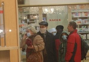 Число жертв гриппа и пневмонии в Украине достигло 545 человек