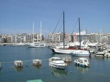 В афинской гавани столкнулись два круизных лайнера