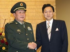 Япония и Китай проведут первые совместные военные учения