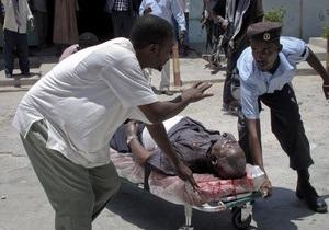 Ответственность за взрыв в Национальном театре Сомали взяли на себя исламисты