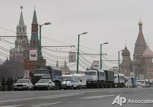 Полиция опровергла сообщения о закрытии входа на митинг в Москве