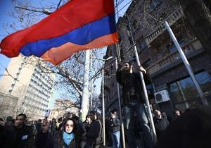 Армению оштрафовали за отказ от участия в Евровидении