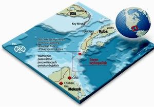 Рядом с Бермудским треугольником нашли затонувший город
