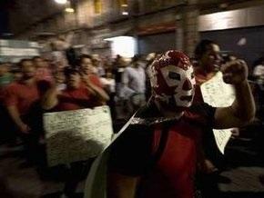 Многотысячная демонстрация парализовала центр Мехико