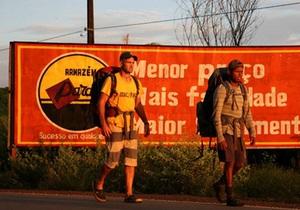 Британец прошел 9650 км вдоль русла Амазонки
