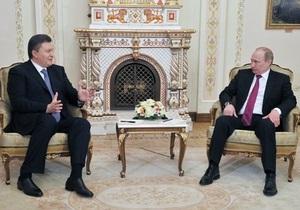 Янукович завершил переговоры с Путиным и возвращается в Киев
