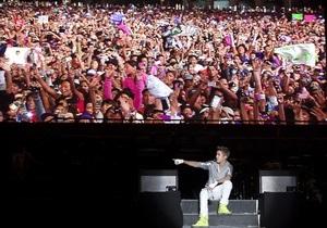 На концерт Бибера в Мехико пришло больше людей, чем на выступление Маккартни