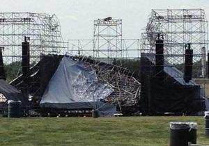 Концерт Radiohead в Канаде отменен из-за обрушения сцены. Один человек погиб