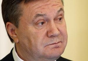 Янукович прокомментировал создание по всей стране Комитетов спасения Украины