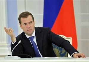 Медведев обеспокоился газовыми проблемами, возникшими у РФ с Европой