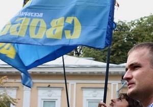 Одесская Свобода заявила о нападении на молодежный лагерь организации